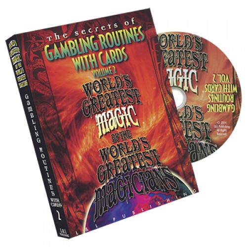 World's Greatest Magic Series - Gambling Routines With Cards Volume 2