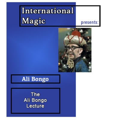 International Magic Lecture DVD - Ali Bongo