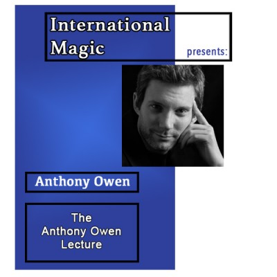 International Magic Lecture DVD - Anthony Owen