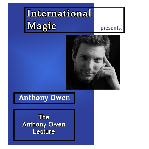 International Magic Lecture DVD - Anthony Owen
