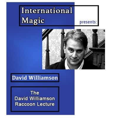 International Magic Lecture DVD - David Williamson Raccoon Lecture