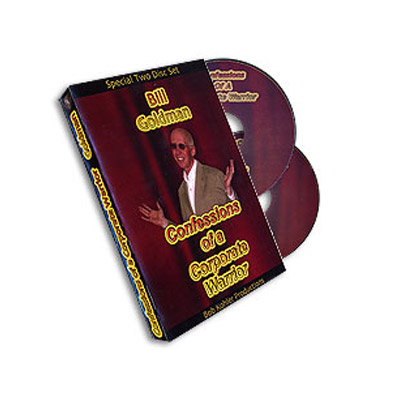 Confessions Of Corporate Warrior 2 Discs - Bill Goldman