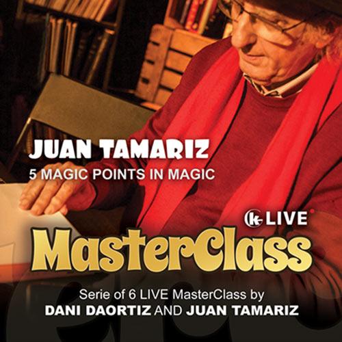 Juan Tamariz Master Class Volume 2 DVD - 5 Points in Magic