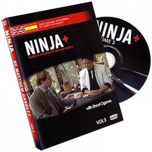 Ninja+ Volume 3 (DVD, SPANISH and English) by Matthew Garrett