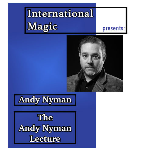 International Magic Lecture DVD - Andy Nyman