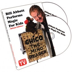 Bill Abbott Performs Magic For Kids Deluxe 2 DVD Set by Bill Abbott