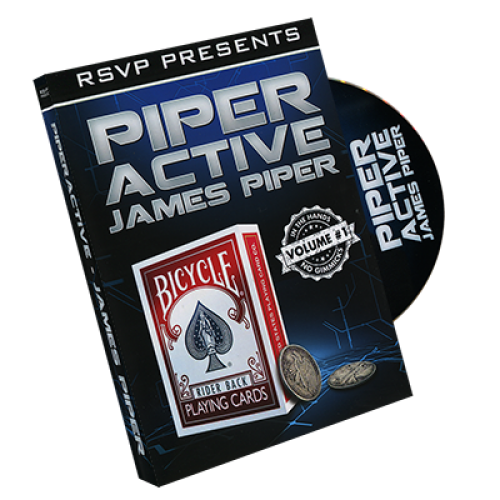 Piperactive by James Piper and RSVP Magic - Vol 1