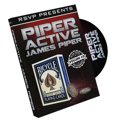 Piperactive by James Piper and RSVP Magic - Vol 2