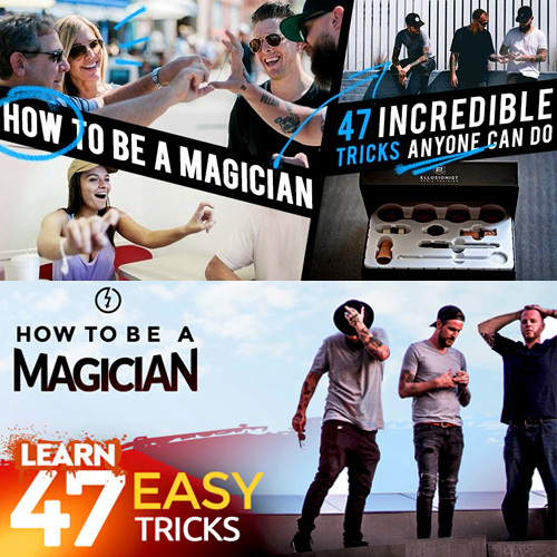 How to Be a Magician!!