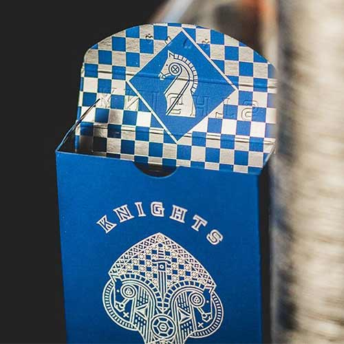 Blue Knights Playing Cards