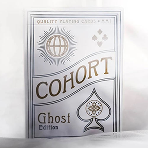 Ghost Cohorts Luxury Pressed Playing Cards