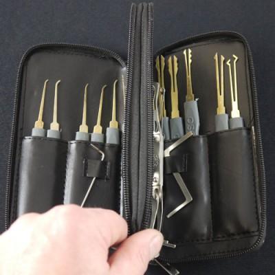 Deluxe 24 Piece Lock Pick Set
