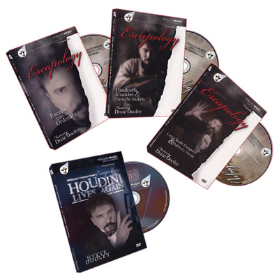 Escapology Volumes 1-3 + Bonus: Houdini Lives by Dixie Dooley