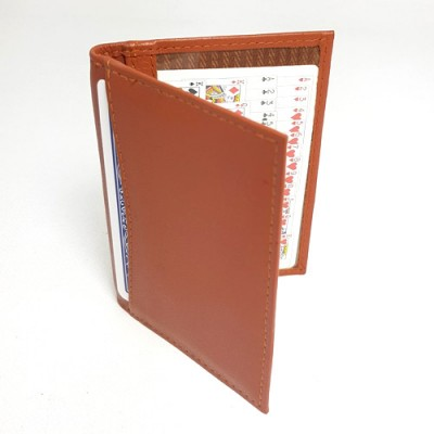 Double Bi-Fold Holder - Tan Leather by Jerry O'Connell and PropDog
