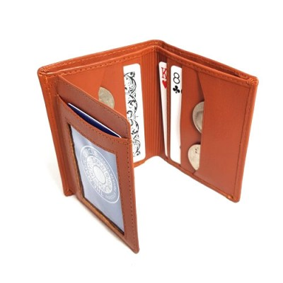 Packet Trick Wallet - Tan Leather by Jerry O'Connell and PropDog