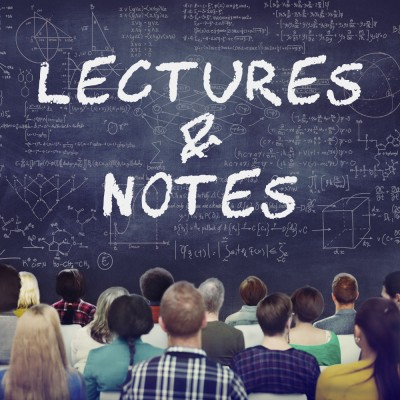 Lectures & Lecture Notes