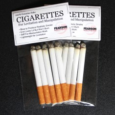 Fake Cigarettes for Manipulation/Levitation - 6 in a Pack by Steve Fearson