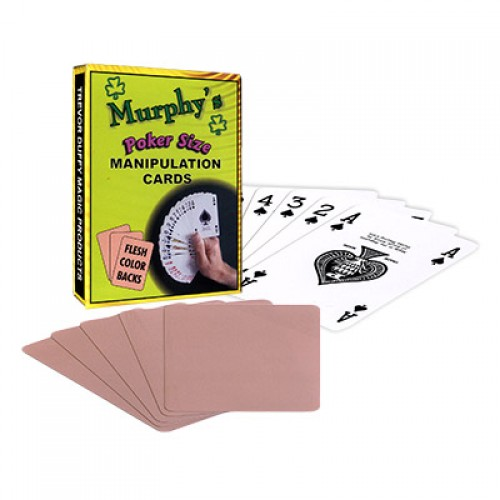 Manipulation Cards by Trevor Duffy - Poker Size Flesh