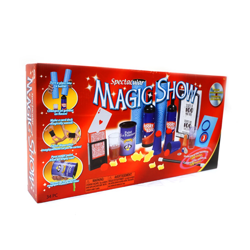Spectacular Magic Show 100 Trick Set