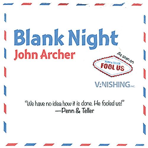 Blank Night by John Archer
