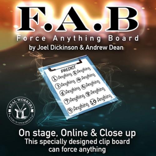 F.A.B. Board (A5) by Joel Dickinson