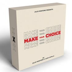 Make Your Choice by Julio Montoro ***Shipping 18th Oct***