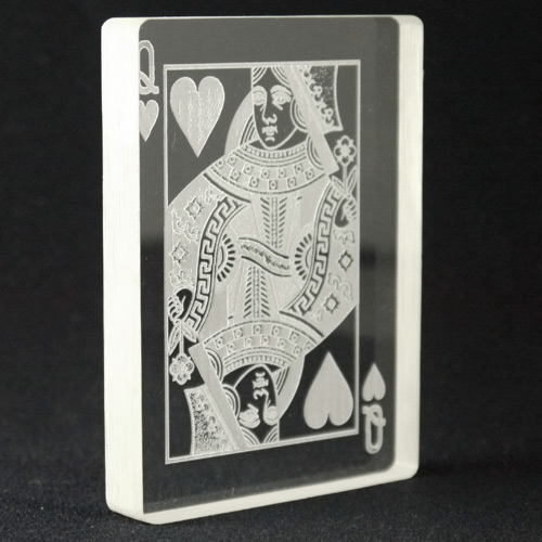 Queen of Hearts Omni Deck by PropDog - Bottom Engraved