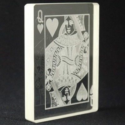 Queen of Hearts Omni Deck by PropDog - Top Engraved