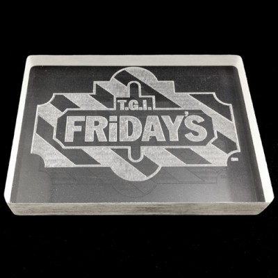 Custom TEXT or LOGO Omni Deck Engraving *Includes Omni Deck*