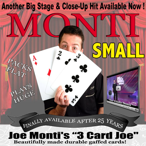 3 Card Joe by Joe Monti and PropDog - Small