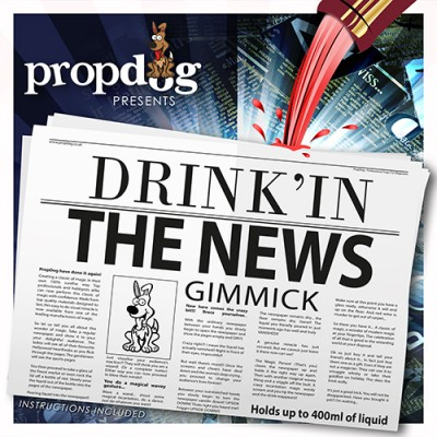 Drink'in The News - BROADSHEET EDITION by PropDog