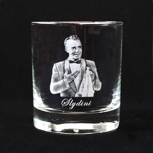 Legends of Magic Engraved Whiskey Glass - Slydini