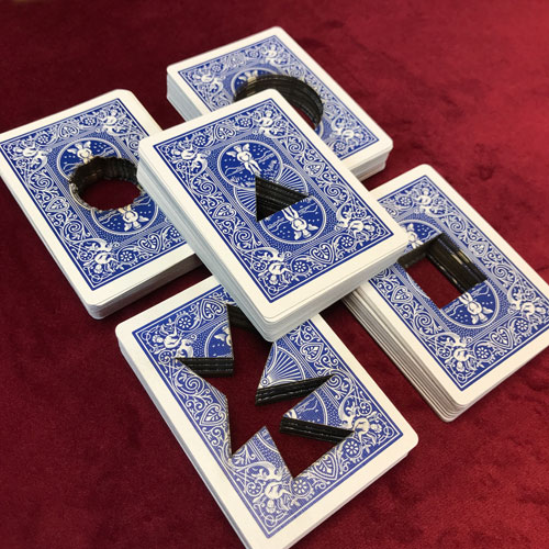 Laser Cut Deck of Cards by PropDog