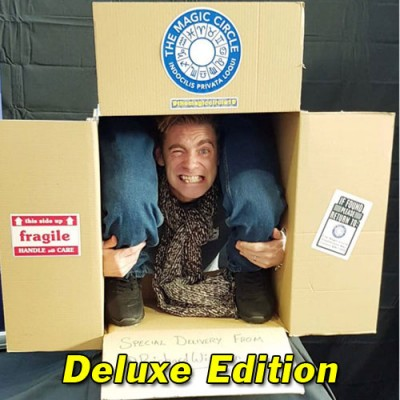 Deluxe Person in a Box Photo Opportunity Illusion by Richard Wiseman