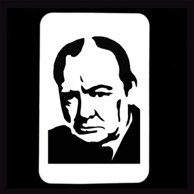 21st Century Phantom Cut Out - Winston Churchill by PropDog