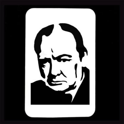 21st Century Phantom Cut Out - Winston Churchill by PropDog