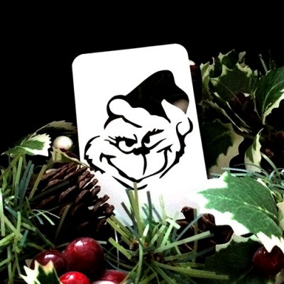 21st Century Phantom Christmas Cut Out - The Grinch by PropDog