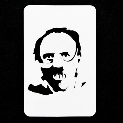 21st Century Phantom Halloween Cut Out - Hannibal Lecter by PropDog