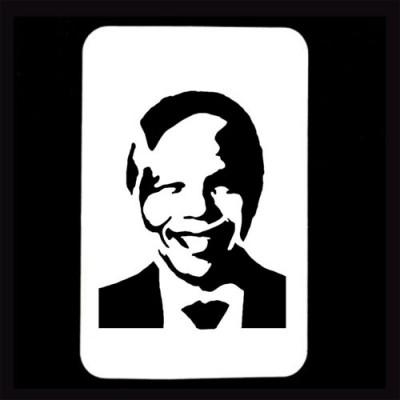 21st Century Phantom Cut Out - Nelson Mandela by PropDog