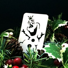 21st Century Phantom Christmas Cut Out - Olaf - The Snowman by PropDog