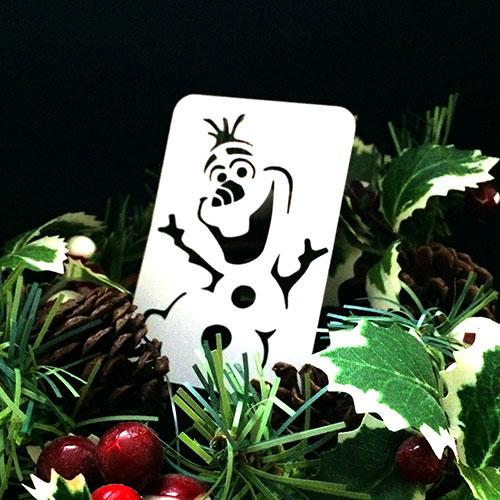 21st Century Phantom Christmas Cut Out - Olaf - The Snowman by PropDog