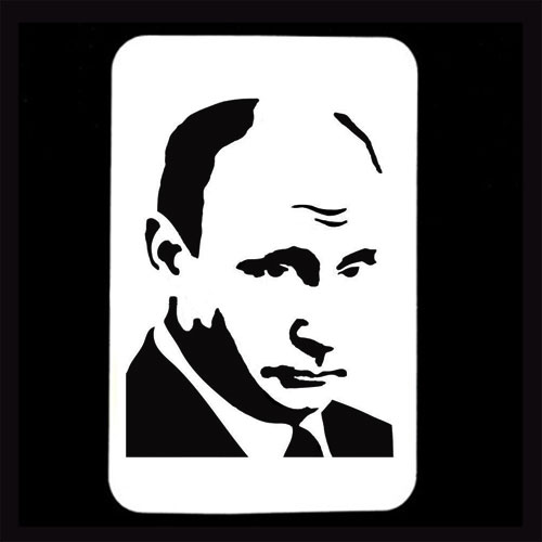 21st Century Phantom Cut Out - Vladimir Putin by PropDog