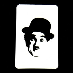 21st Century Phantom Cut Out - Charlie Chaplin by PropDog