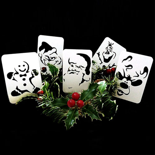 21st Century Phantom Cut Out Christmas Mixed Pack