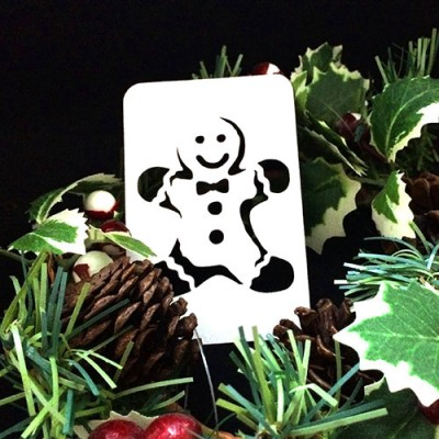 21st Century Phantom Christmas Cut Out - Gingerbread Man by PropDog