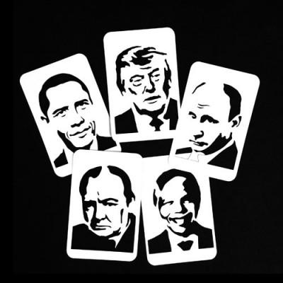 21st Century Phantom Politicians Cut Outs