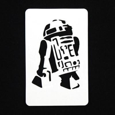 21st Century Phantom Star Wars Cut Out - R2-D2