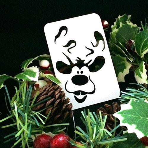 21st Century Phantom Christmas Cut Out - Rudolf - The Reindeer by PropDog