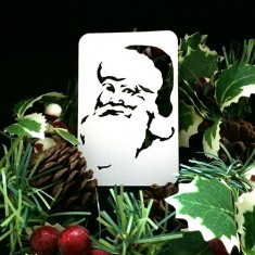 21st Century Phantom Christmas Cut Out - Santa Claus by PropDog