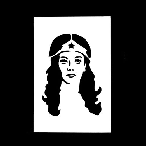 21st Century Phantom Cut Out - Wonder Woman by PropDog